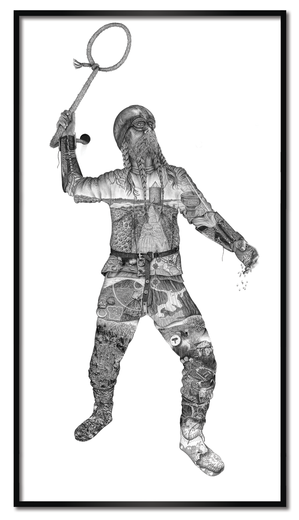 Viking - 50 x 92,5 cm