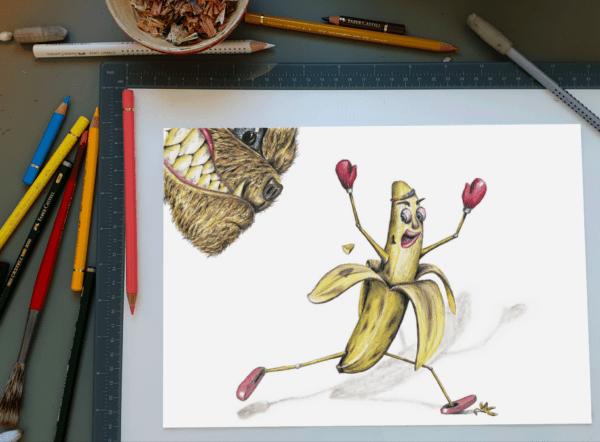 Bananas - Morgentegning