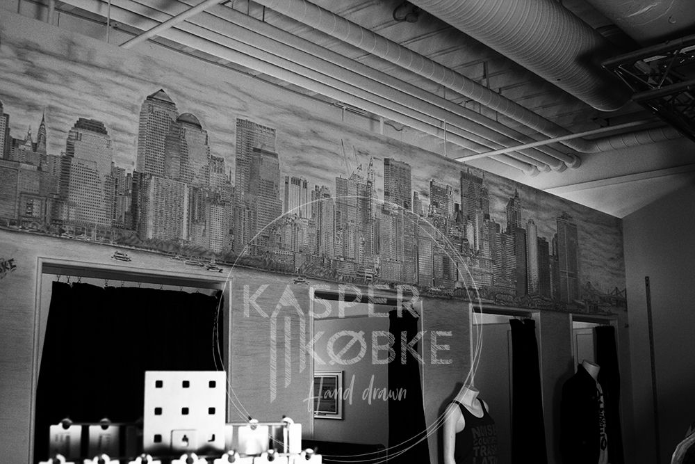 New York Skyline - 583 x 96 cm