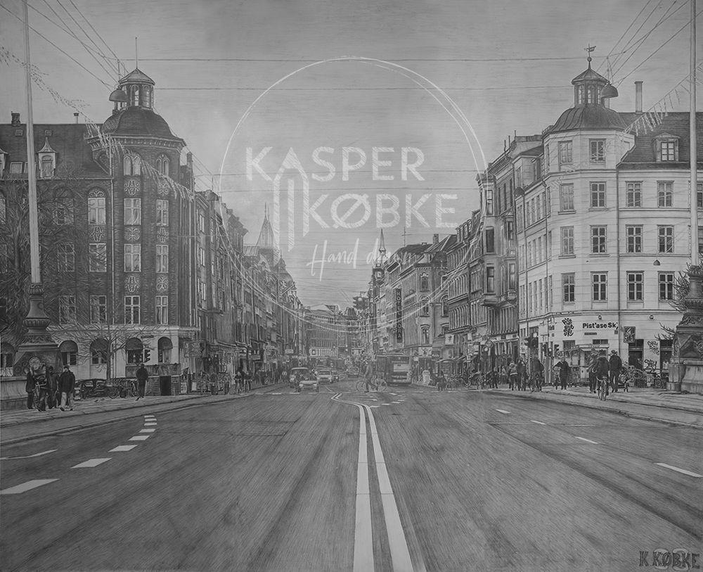 Nørrebrogade, Cph - 300 x 244 cm