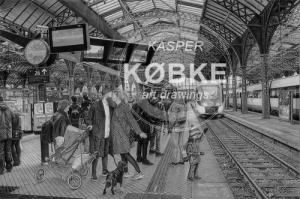 Kasper Købkes håndtegnede værker